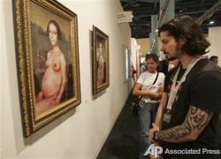 Самые интересные экспонаты Международной выставки искусства (Art Basel Miami Beach) во Флориде (фото)