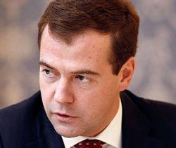 Дмитрий Медведев, советник еще более невысокий, чем его шеф