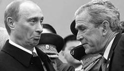 """Джордж Буш негативно отнесся к \""""рокировке Путин-Медведев\"""""""