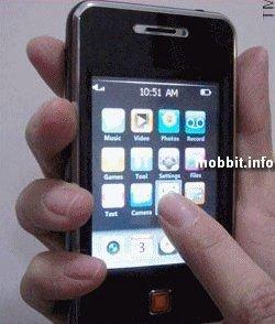 Optimus Touch – недорогой клон iPod touch (видео)