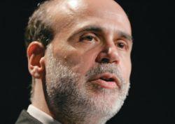 Глава ФРС Бен Бернанке опасается замедления экономики США гораздо сильнее, чем ускорения инфляции
