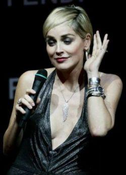 Шерон Стоун (Sharon Stone) на аукционе «Кино против СПИДа» (Cinema Against AIDS) в Дубае (фото)