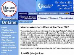 Редакция словаря Merriam-Webster выбрала слово года