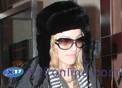 Откуда у Мадонны синяки?