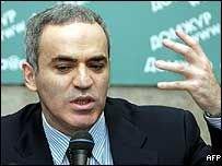 Гарри Каспаров не будет кандидатом в президенты