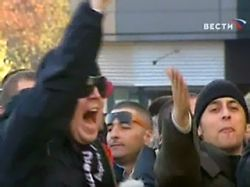 В Риме ранены шесть футбольных фанатов