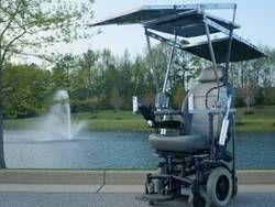 Студенты создали новую инвалидную коляску