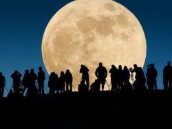 23 июня Луна увеличится
