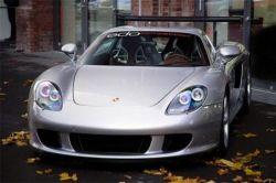 Тюнингованный Porsche Carrera GT