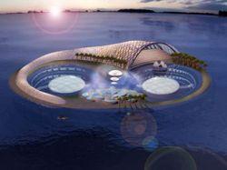 """Арабские строители отеля \""""Гидрополис\"""" в Дубае, через два года уйдут под воду"""