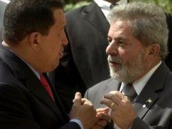 Президенты Венесуэлы и Бразилии - Уго Чавес и Луис Инасиу Лула да Силва - подписали соглашение о совместной добыче и переработке нефти