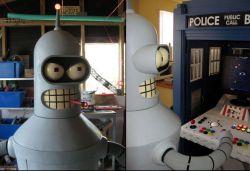 Самодельная пивоварня в стиле робота Бендера из мультфильма Futurama (фото)