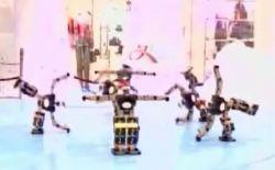 Японские ученые научили роботов танцевать (видео)