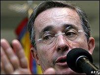Похищение сыновей президента Колумбии Альваро Урибе не удалось