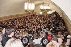 Транспортники отчитались: московское метро по числу пассажиров уступает только лифтам