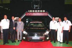 Honda собрала в Таиланде миллионный автомобиль