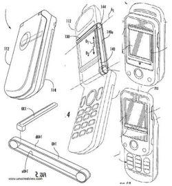 Sony Ericsson запатентовала интересное решение для очистки экранов телефонов