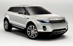 Концептуальный кроссовер Land Rover LRX (фото)