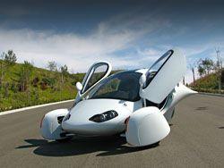 Компания Aptera США готовит к запуску трех колесного автомобиля