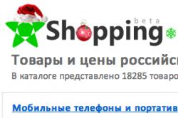 Shopping.ru – новый коммерческий проекта КМ Онлайн