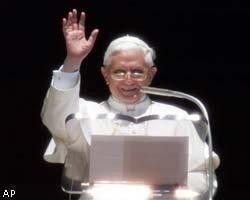 Папе римскому  Бенедикту XVI предложили сменить имидж