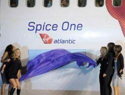 Авиакомпания Virgin Atlantic назвала самолет в честь Spice Girls