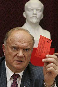 Геннадий Зюганов выдвинулся после беседы с Путиным