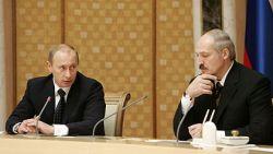 Визит президента Владимира Путина в Белоруссию прошел необычайно тихо
