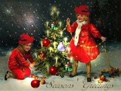 Рождественская открытка дошла до адресата через 93 года