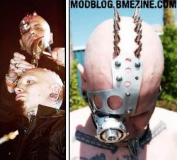 Ужасающая подборка экстремальных любителей тату и пирсинга (фото)