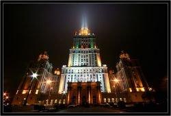 """Причина обрушения башни гостиницы \""""Украина\"""" - некачественные стройматериалы"""