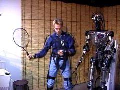 Робот для игры в пинг-понг (видео)