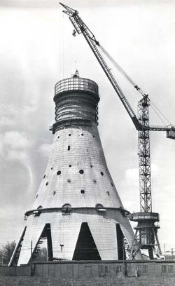 Как строили Останкинскую телебашню (фото)