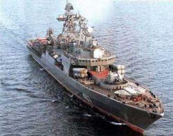 "Эскорт \""Адмирала Кузнецова\"" обнаружил скрывавшуюся подлодку"