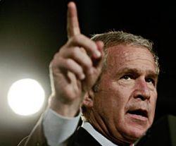 Джордж Буш одобрил значительное сокращение ядерного арсенала США