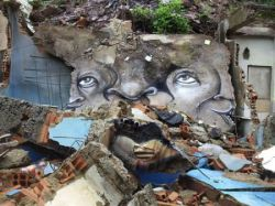 Графити на развалинах (фото)
