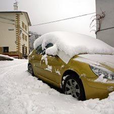 На Южную Европу обрушился сильный снегопад