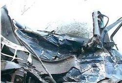 Маршрутка упала с моста на Ставрополье