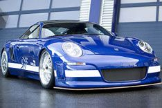Тюнигованный Porsche GT9 обгонит суперкар Bugatti Veyron