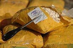 В поезде под Новгородом у женщины изъяли 3 килограмма героина