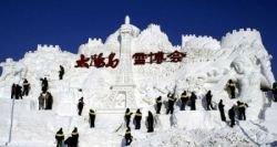 Фотоотчет с International Snow Sculpture Art Expo – выставки снежных скульптур (фото)