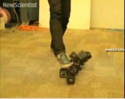 Миниатюрный робот из зубной щетки (видео)