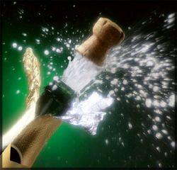 На чешском курорте Карлова Студанка туристов умоют шампанским