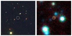 Найдены первые галактики во Вселенной