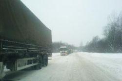 Забастовка дальнобойщиков: трасса Москва - Санкт-Петербург может быть заблокирована
