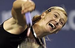 Мария Шарапова названа разочарованием 2007 года по версии журнала Tennis
