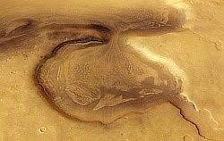 """На Марсе обнаружен \""""активный\"""" ледник"""