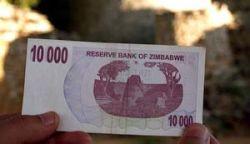 В Зимбабве вводят 750-тысячную банкноту