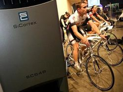 "Велосипедисты \""запитали\"" суперкомпьютер SiCortex SC648"