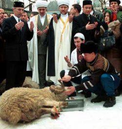 Российские мусульмане отпраздновали Курбан-байрам